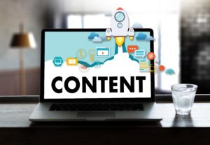 the-words-content-on-a-laptop-screen-for-marketing